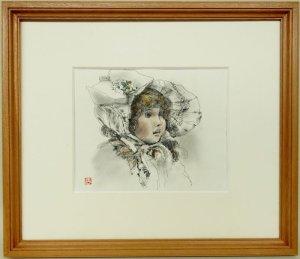 画像1: 松田朝旭 「ドール」 素描ペン画 1982年作